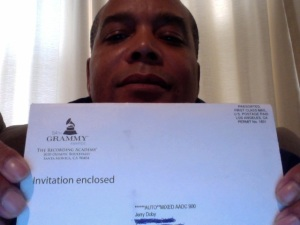 Grammy Awards Invitation