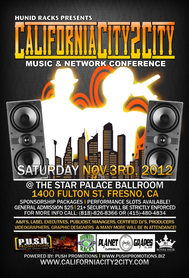 California City2City Conference flyer
