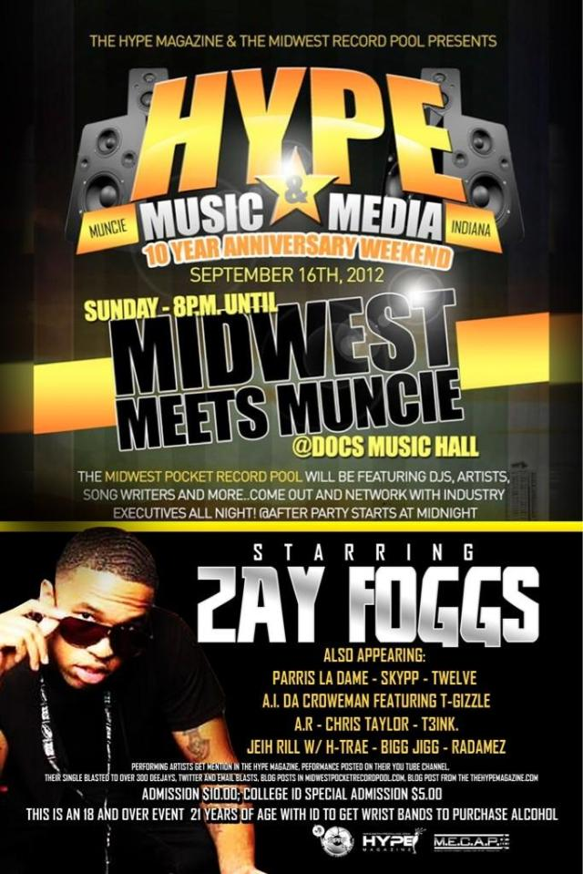 The Hype Magazine Midwest Flyer