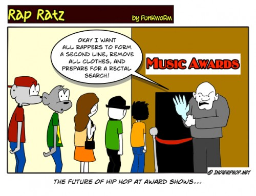 IndieHipHop.net features Rap Ratz cartoons by Funkworm
