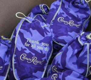 Cammo Crown Royal bags