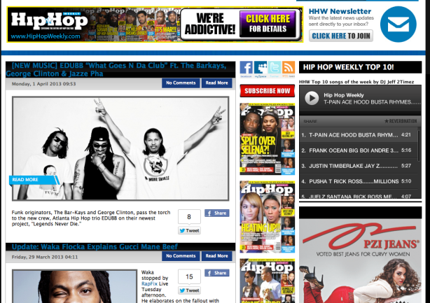 HipHopWeekly.com features EDUBB