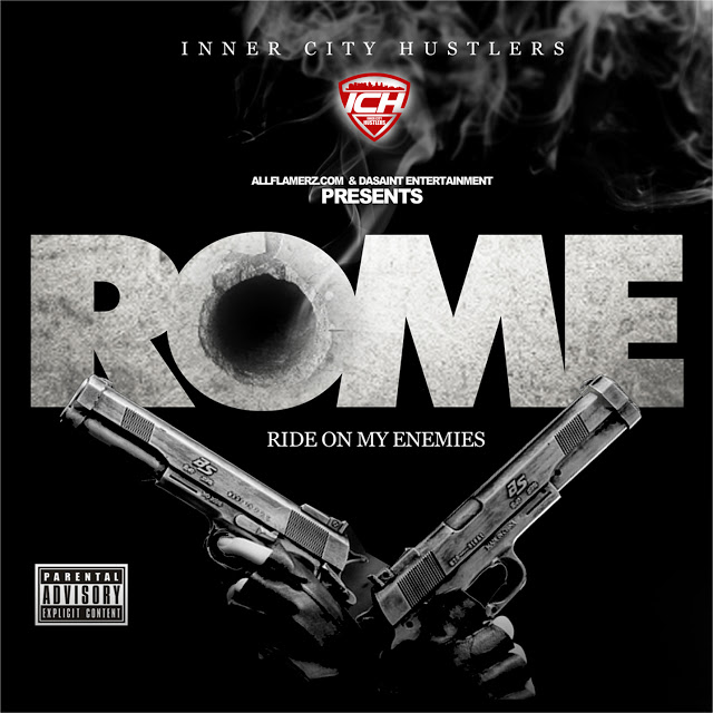 Philly's Hottest Rap Group, Inner City Hustlers Reveal the Artwork for Their New Project...'R.O.M.E.' @Jimmydasaint1 | The Hype Magazine 24/7 News