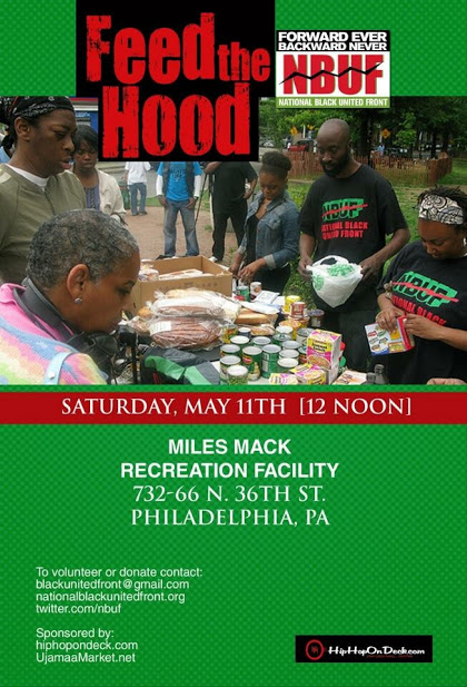 Feed The Hood Event via @HipHopOnDeck