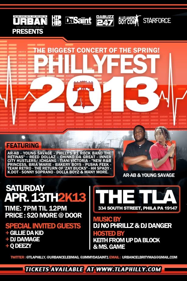 Jimmy Da Saint Presents PhillyFest 2013