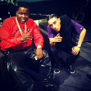 Biz and Sean Kingston