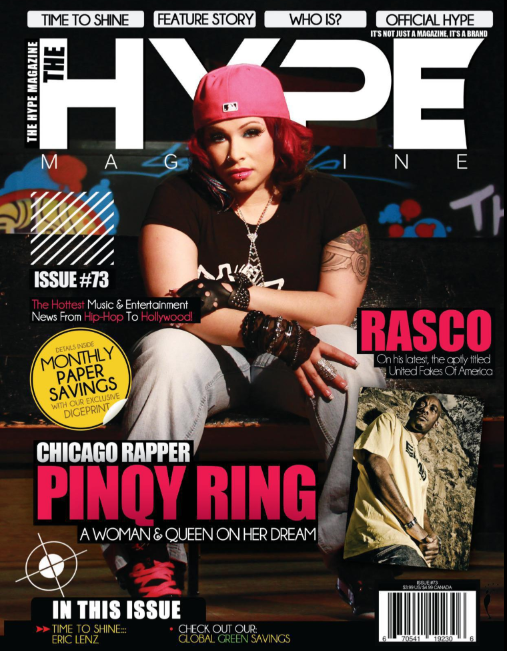 The Hype Magazine cover: Pinqy Ring
