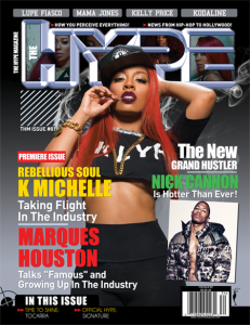 The Hype Magazine debut cover