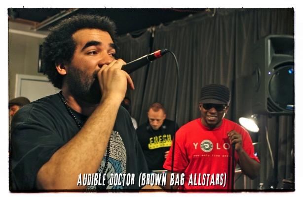 1 Audible Doctor (Brown Bag AllStars)
