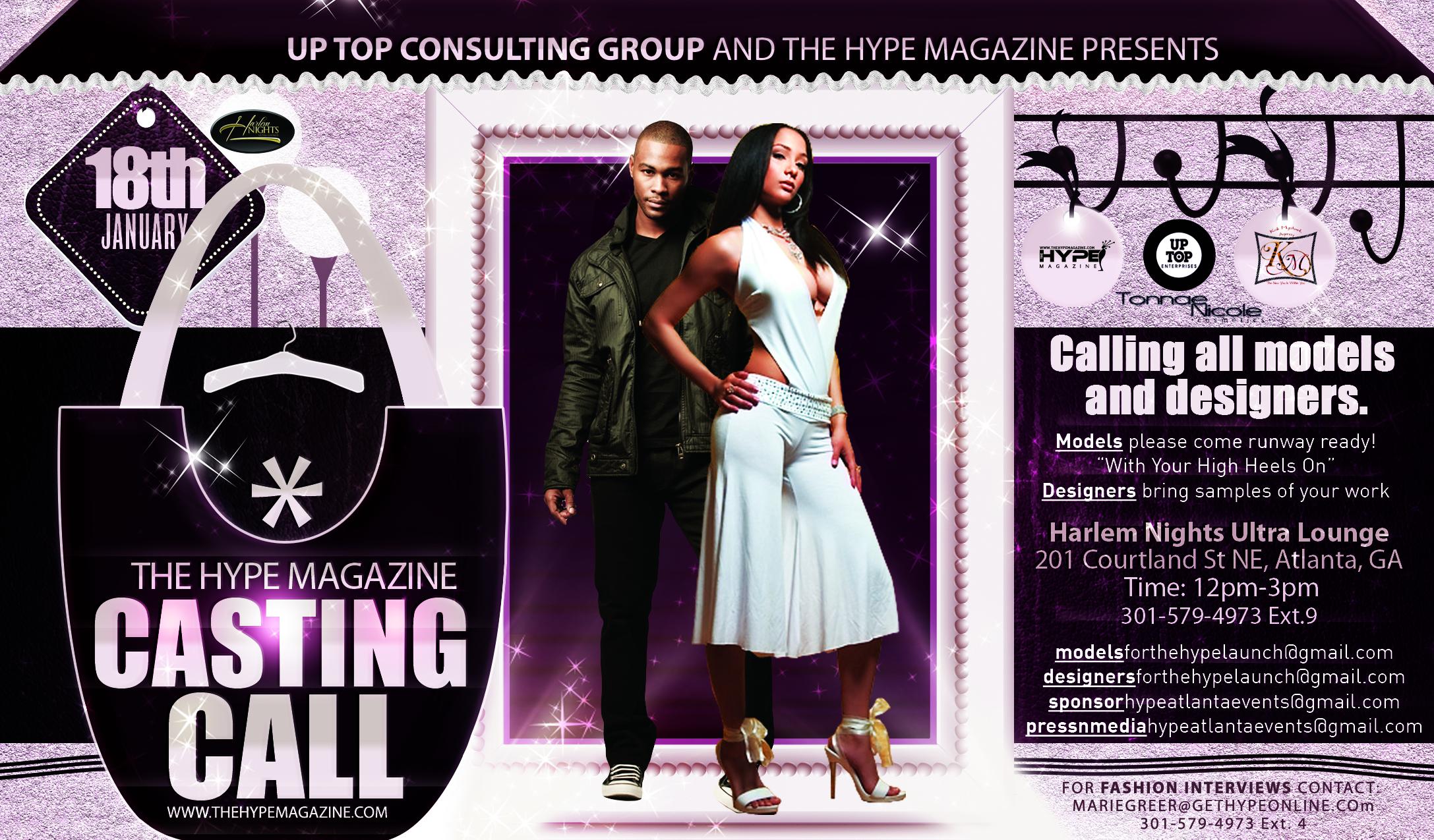 Model Casting Calls