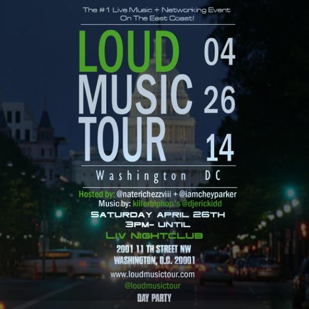 LOUD Music Tour ArtWork