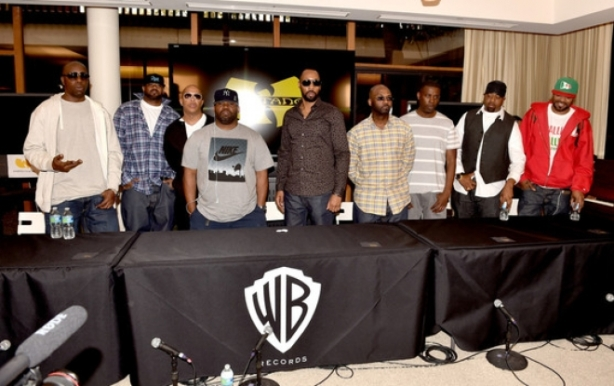 Wu Tang Clan signs with Warner Bros. Records