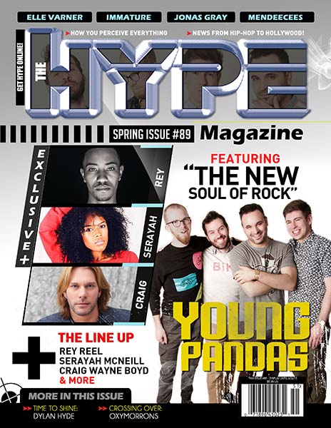The Hype Magazine Spring Issue cover