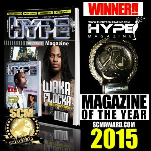 The Hype Magazine takes top honors at 2015 SCM Awards in Memphis