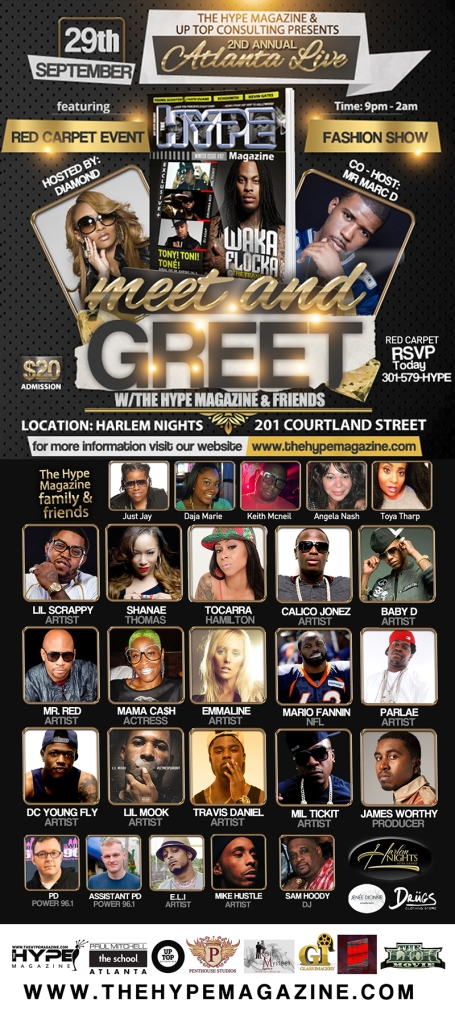 The Hype Magazine returns to Harlem Nights Ultra Lounge in Atlanta for 2nd year