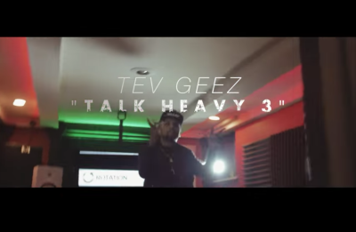 "Tev Geez -""Talk Heavy 3"" Video / www.hiphopondeck.com"